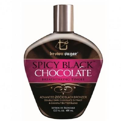 BROWN SUGAR - SPICY BLACK CHOCOLATE 400ML - 200X BRONZERS