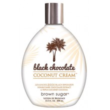 BROWN SUGAR Black Chocolate Coconut Cream - 200x Bronzers
