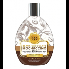BROWN SUGAR Double Dark Black Chocolate Mochaccino - 400X Bronzers